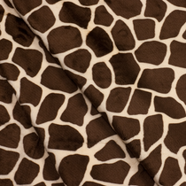 Giraffe Cuddle Fake Fur