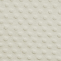 Ivory Minky Dot Faux Fur Fabric