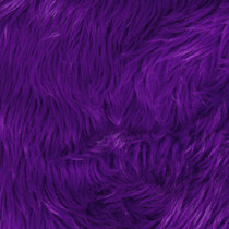 Purple Shag Faux Fur