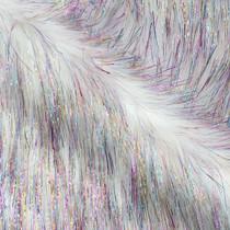 Glittering 'Unicorn' Faux Fur Fabric