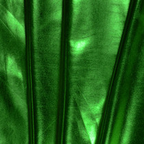 Kelly Green Lycra Lame Fabric