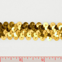 "Gold .75"" Sequin Trims"