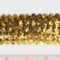 "Gold 1.5"" Sequin Trim"