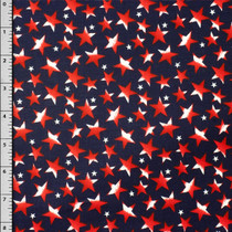 Patriotic Cotton Print Fabric