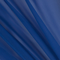 Cobalt Blue Two-Tone Chiffon