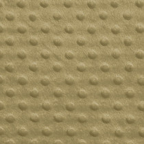 Tan Minky Dot Fabric