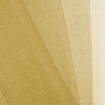 Gold Glitter Netting Fabric