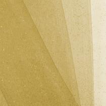 Gold Glitter Netting Fabric