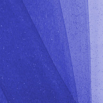 Royal Blue Glitter Netting