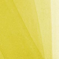Yellow Glitter Netting Fabric