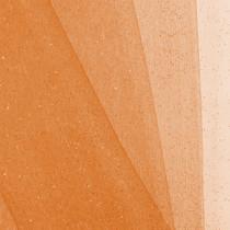 Orange Glitter Netting Fabric