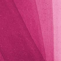 Hot Pink Glitter Netting Fabric