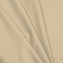 Ivory Polyester Interlock Fabric