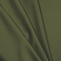 Olive Green Polyester Interlock Fabric