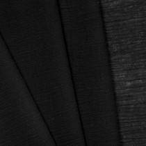 Black Cotton Gauze Fabric