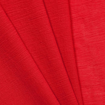 Red Cotton Gauze Fabric