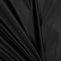 Shiny Black Four-way Stretch Nylon/Lycra Fabric