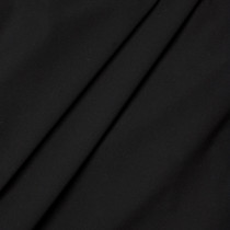 Matte Black Four-way Stretch Nylon/Lycra Fabric