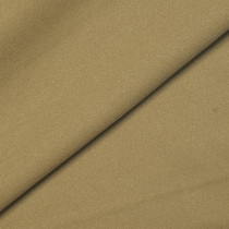 Tan Polyester Crépe Fabric