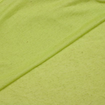 Yellow Natural Slubbed Jersey Knit Fabric