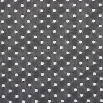 White Polka Dot Tulle Fabric