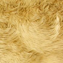 Tan Shag Faux Fur Fabric