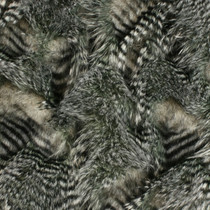 Silver High/Low Luxury Feather Fur