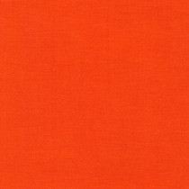 Tangerine Kona Cotton Solid Fabric by Robery Kaufman