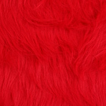 Red Gorilla Faux Fur