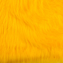 Yellow Gorilla Faux Fur