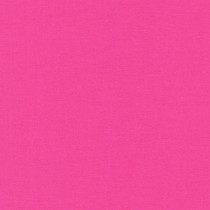 Bright Pink Kona Cotton Solid Fabric by Robert Kaufman