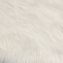 White Artcic Fox Faux Fur