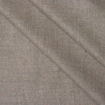 Tan Heather Brushed Wool Gabardine Fabric
