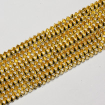 "Gold 4"" Wide Spike Trim"
