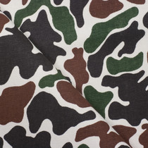 Camouflage Print Heavyweight Twill Fabric