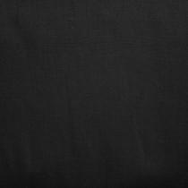 Black Midweight 100% Linen