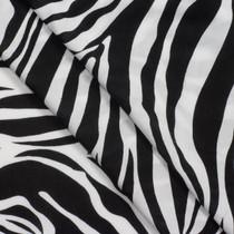 Zebra Print Rayon Challis