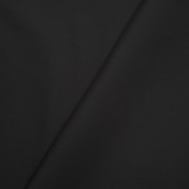 Black Stretch Cotton Broadcloth Fabric