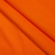 Orange Stretch Cotton Broadcloth