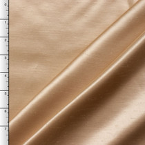 Honey Shantung Satin
