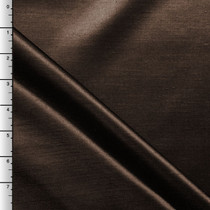 Brown Shantung Satin