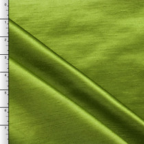 Avocado Shantung Satin