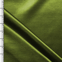 Dark Avocado Shantung Satin