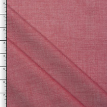 Red 3oz Cotton Tencel Chambray by Robert Kaufman
