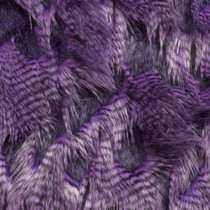 Purple High/Low Luxury Feather Fur