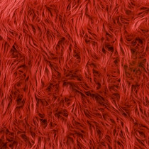 Red Mongolian Faux Fur