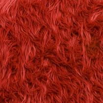 Red Mongolian Faux Fur