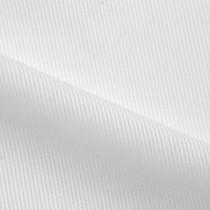 White on White Semi-Sheer Stripe Cotton