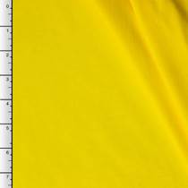 Bright Yellow Cotton Jersey Knit