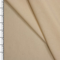 Natural Midweight Wool Gabardine